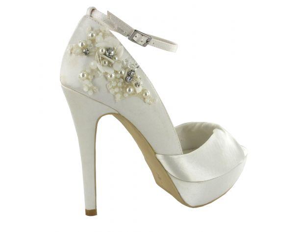VICENTA zapatos novia Menbur