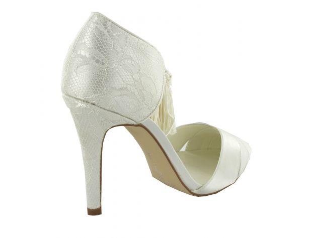 BRIANA zapatos novia Menbur