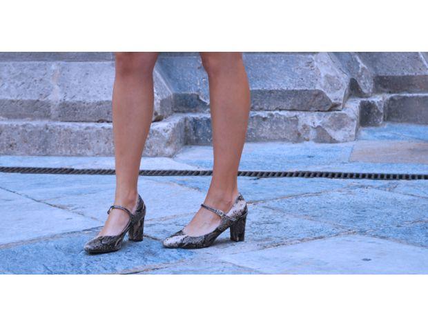 DURATON mid&low heel Menbur