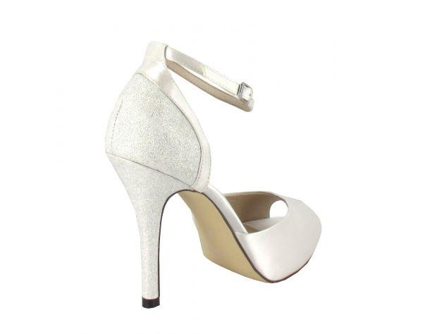GISELA zapatos novia Menbur