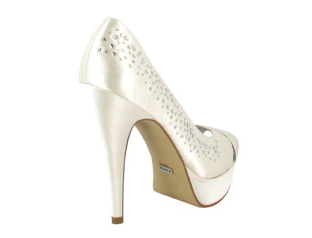 LEILA zapatos novia Menbur