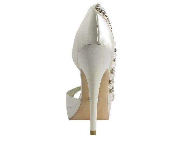 LUCILDA zapatos novia Menbur