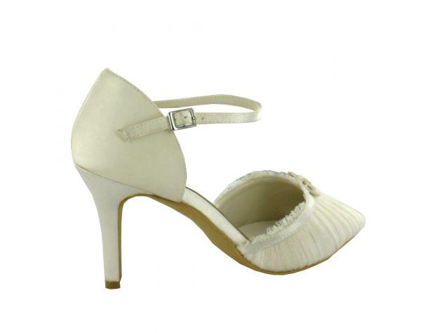MARIEL zapatos novia Menbur