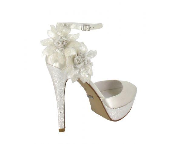 PILAR zapatos novia Menbur