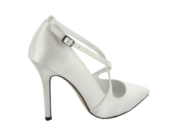 ROSARIO zapatos novia Menbur
